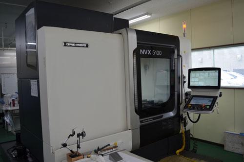 立型マシニングセンタ NVX5100
