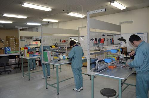 専用の組立工場