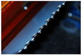 3次元バリトリ後の端面