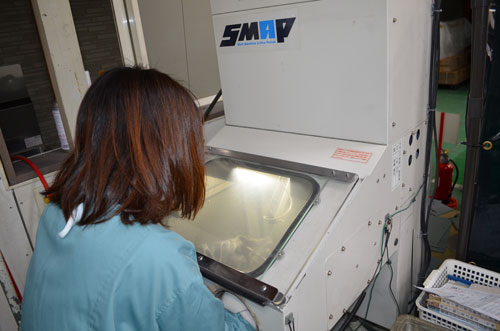 鏡面研磨機 SMAP-Ⅱ